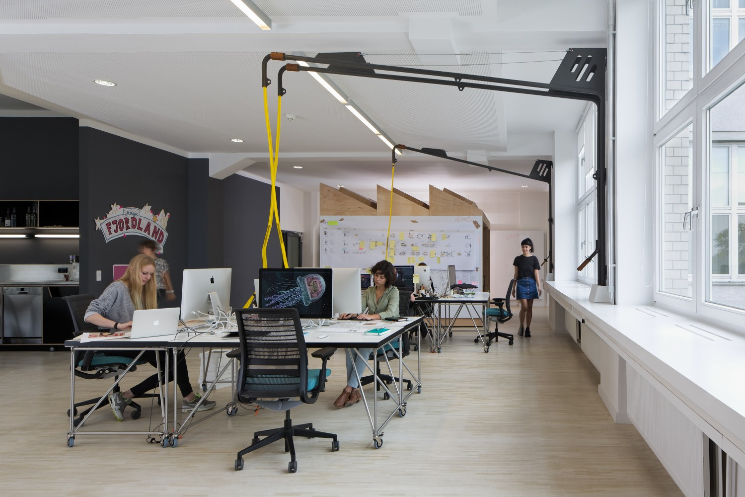 the design office. Fjord, A Design And Innovation Agency With 15 Studios Around The World, Recently Opened Its New German Headquarters In Berlin. Kinzo Was Commissioned Office